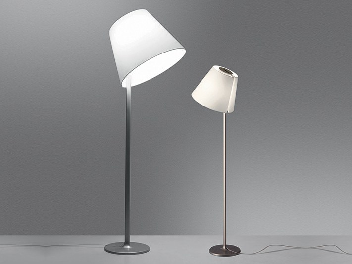 Halogen adjustable floor lamp MELAMPO MEGA - Artemide