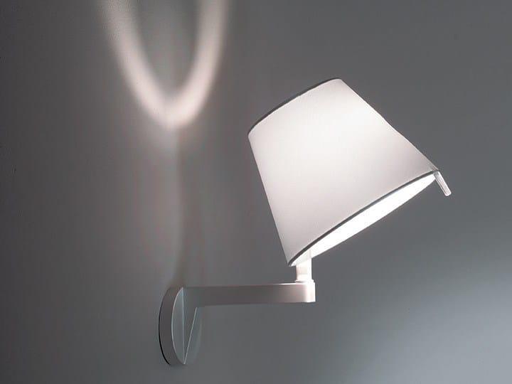 Halogen adjustable wall lamp MELAMPO | Wall lamp - Artemide Italia