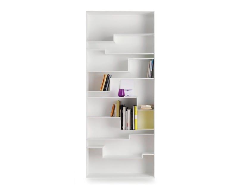 MDF bookcase MELODY - MDF Italia