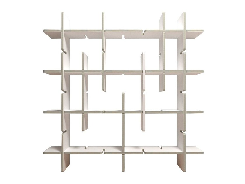 Sectional kraft paper bookcase MEMORE - Staygreen