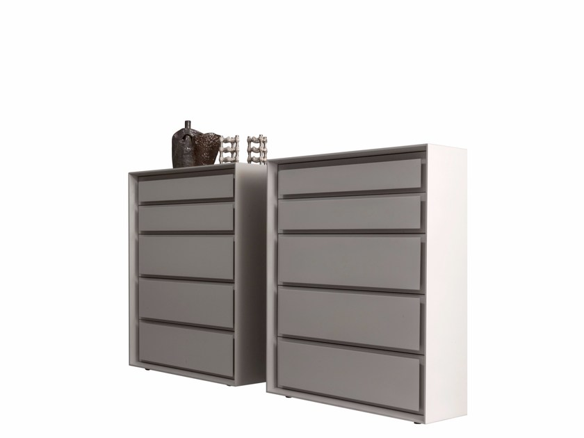 Free standing oak chest of drawers MEMORIES | Chest of drawers by Presotto