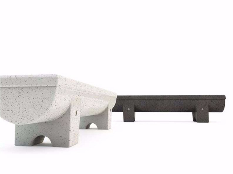Backless Bench MENHIR | Bench by Bellitalia