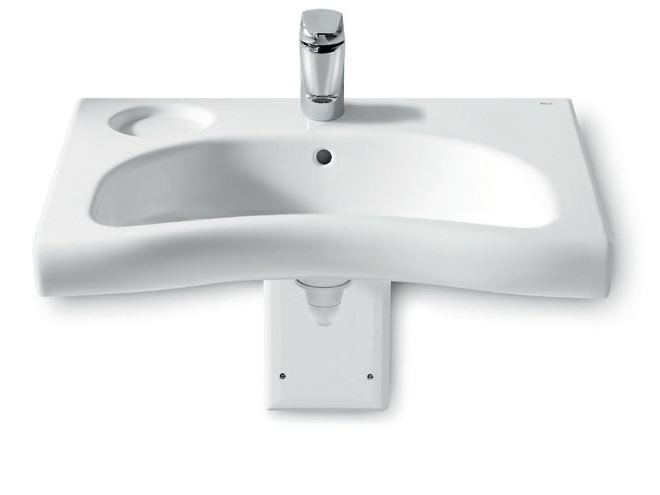 Washbasin for disabled NEW MERIDIAN | Washbasin for disabled by ROCA SANITARIO