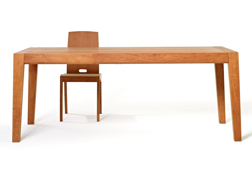 Stakmore Mission Style Expanding Dining Table in Warm