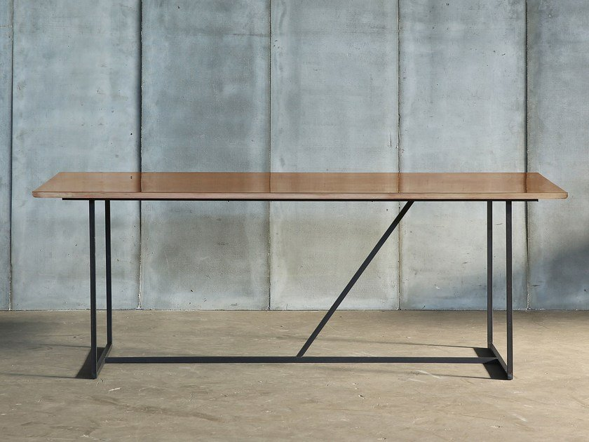 Brass table MESSING by Heerenhuis