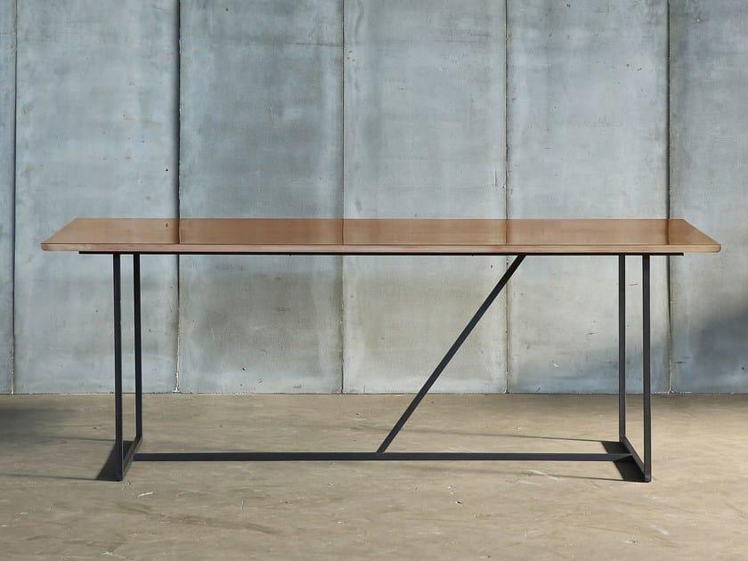 Brass table MESSING - Heerenhuis
