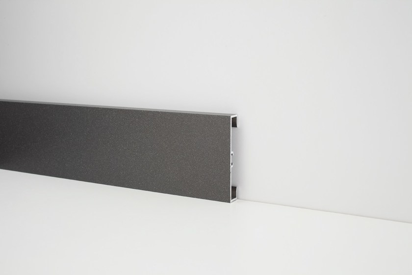 Aluminium Skirting board METAL LINE 89/613 - PROFILPAS