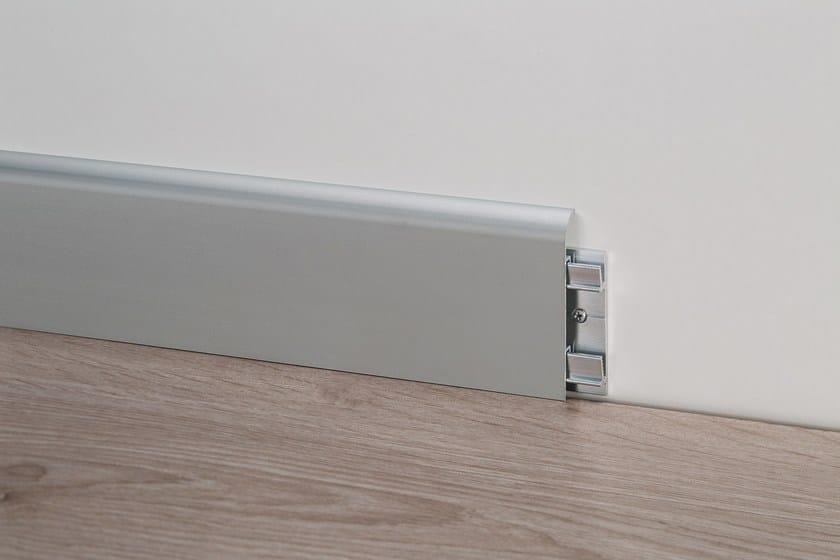 92/7 silver anodised aluminium + aluminium support