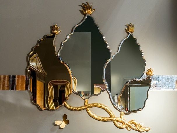 Wall-mounted mirror METAMORFOSI | Mirror - Carpanelli Classic