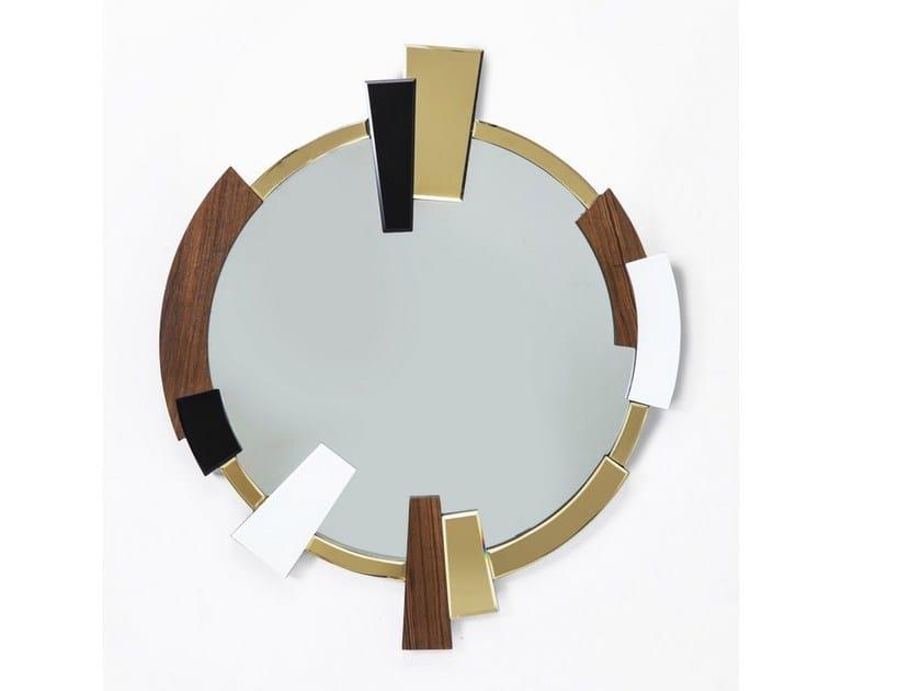 Round wall-mounted mirror METAMORPHOSIS ROUND by KARE-DESIGN