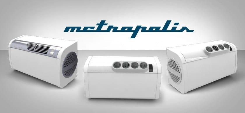 Climatizzatore a parete a pompa di calore senza unit esterna metropolis fintek - Condizionatori ad acqua senza unita esterna ...