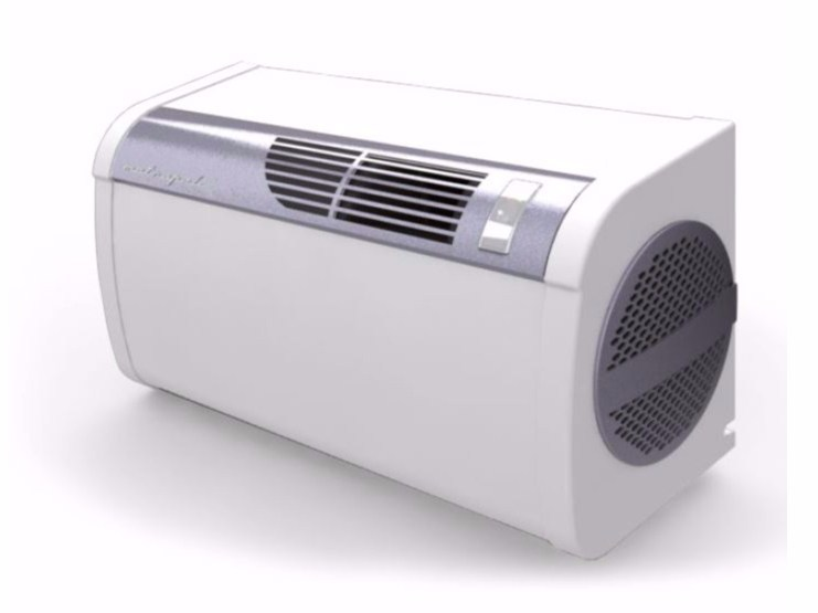 Wall mounted air conditioner with heat pump without external unit METROPOLIS - Fintek