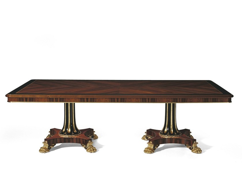 Rectangular rosewood table MG 1123 by OAK