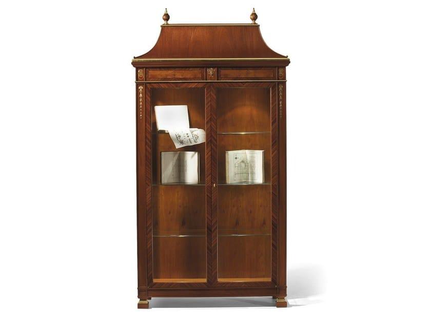Wooden display cabinet MG 1181 - OAK Industria Arredamenti