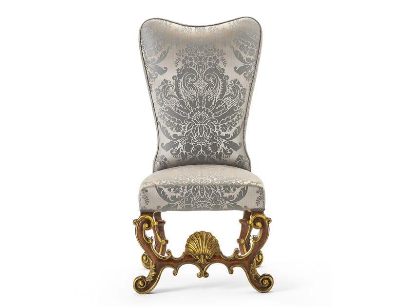 Upholstered fabric chair MG 1318 - OAK Industria Arredamenti