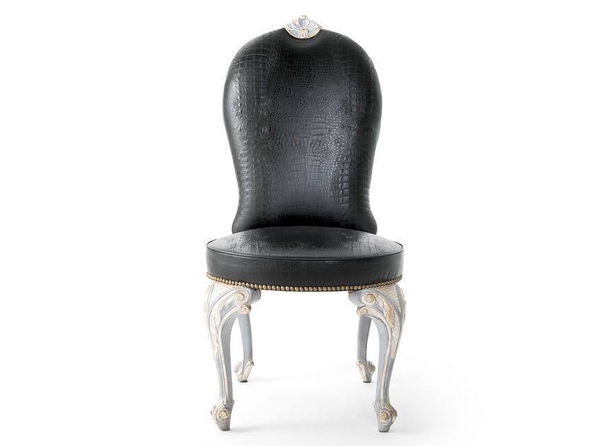 Upholstered fabric chair MG 1328 - OAK Industria Arredamenti