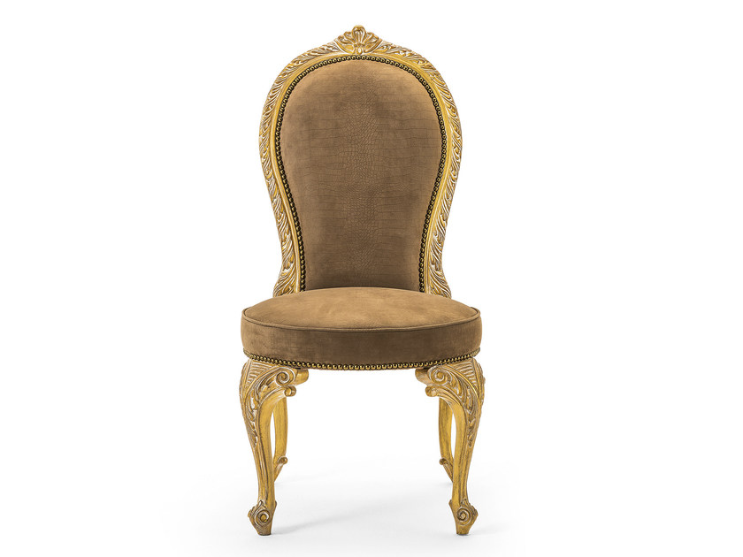 Upholstered fabric chair MG 1338 - OAK Industria Arredamenti
