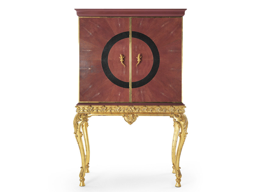 Classic style wooden bar cabinet MG 2520 - OAK Industria Arredamenti