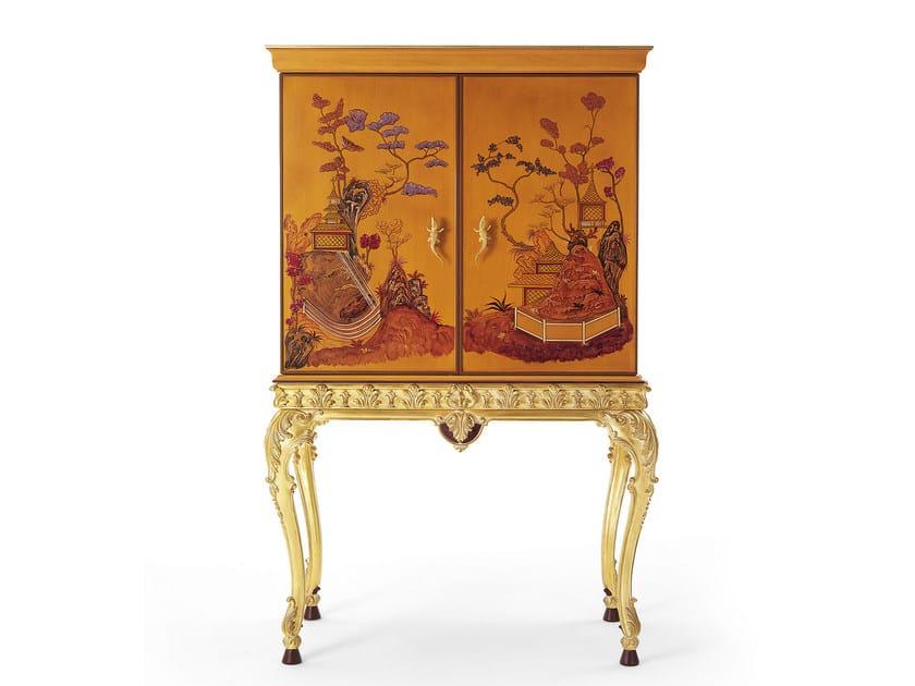 Classic style wooden bar cabinet MG 2521 - OAK Industria Arredamenti