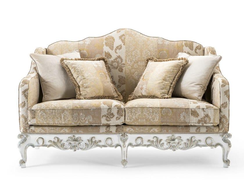 2 seater fabric sofa MG 3312 - OAK Industria Arredamenti