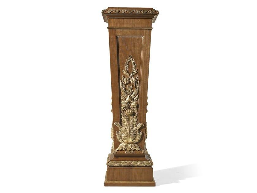 Louis XVI oak pedestal MG 4049/ROV - OAK Industria Arredamenti