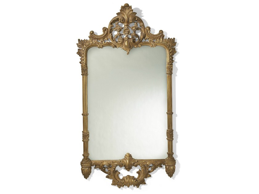 Louis XVI wall-mounted framed mirror MG 5021 - OAK Industria Arredamenti