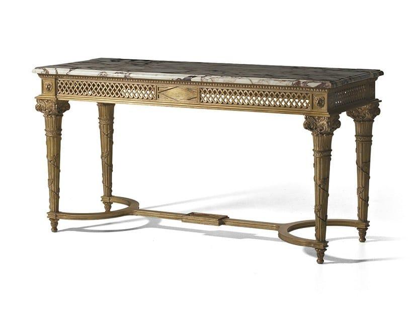 Rectangular wooden console table MG 5070 - OAK Industria Arredamenti