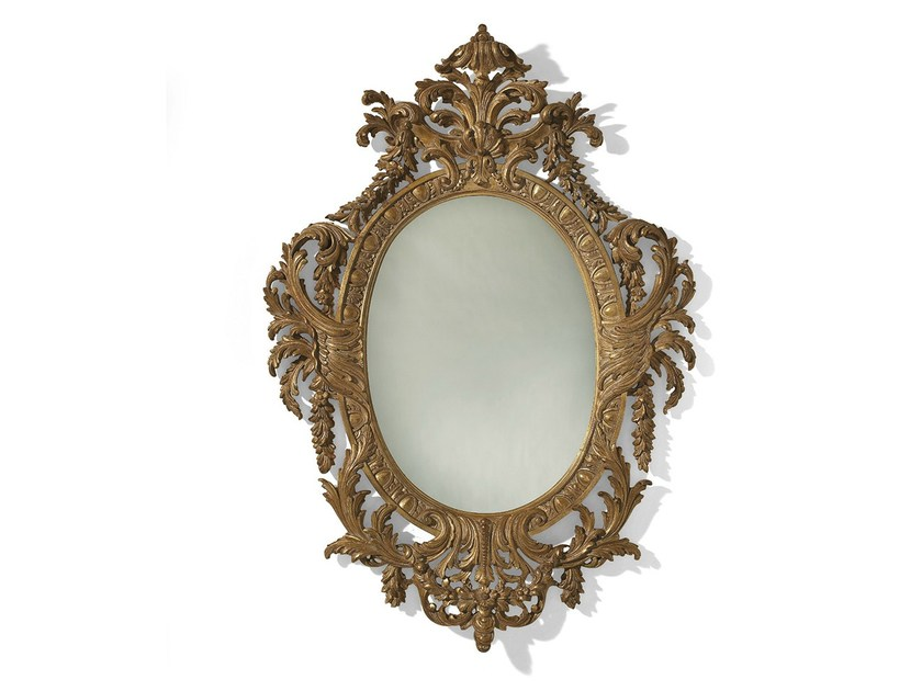 Wall-mounted framed mirror MG 5121 - OAK Industria Arredamenti