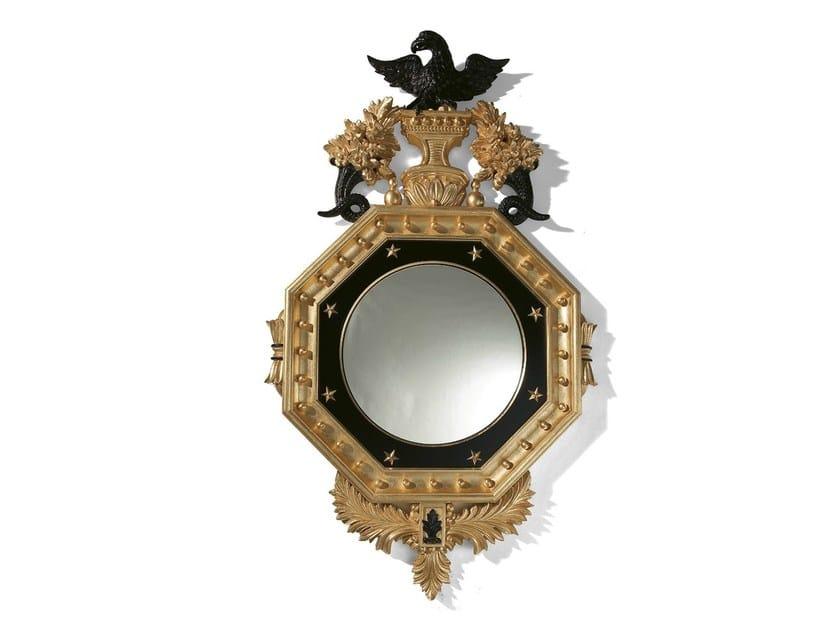 Wall-mounted framed mirror MG 5161 - OAK Industria Arredamenti