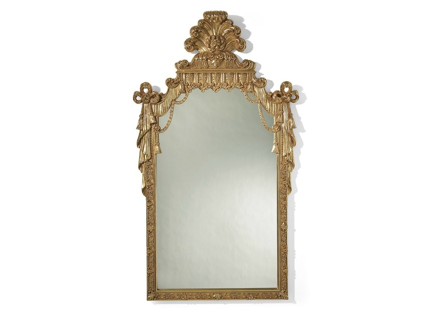 Louis XVI wall-mounted framed mirror MG 5171 - OAK Industria Arredamenti