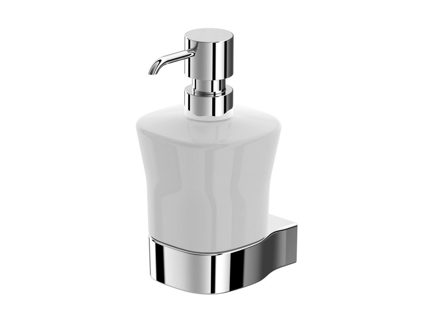 Wall-mounted ceramic liquid soap dispenser MH | Wall-mounted liquid soap dispenser - TOTO