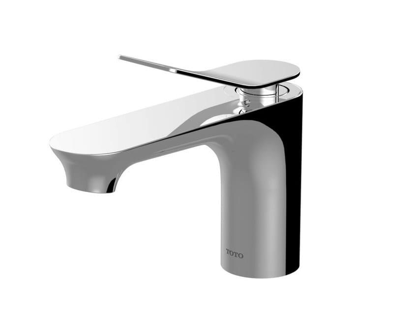 Single handle chromed brass washbasin mixer MH | Chromed brass washbasin mixer - TOTO