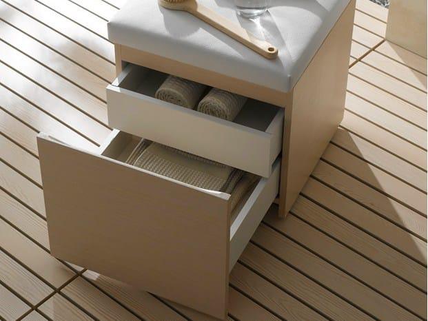 Sgabello per bagno in quercia mh sgabello per bagno in for Ikea sgabello bagno