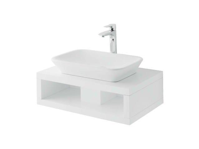 Single wooden washbasin countertop MH | Single washbasin countertop - TOTO