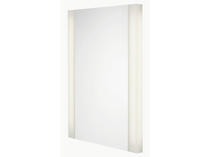 Wall-mounted bathroom mirror with integrated lighting MH | Bathroom mirror - TOTO