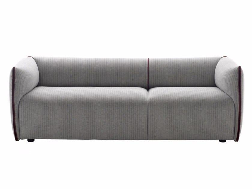 3 seater fabric sofa with removable cover MIA   3 seater sofa - MDF Italia