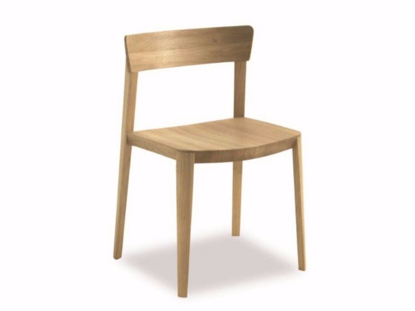 Solid wood chair MIA WOOD by Riva 1920