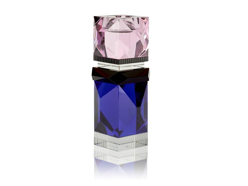 Crystal candle holder MIAMI by Reflections