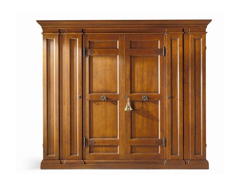 Solid wood wardrobe MICHELANGELO by SELVA