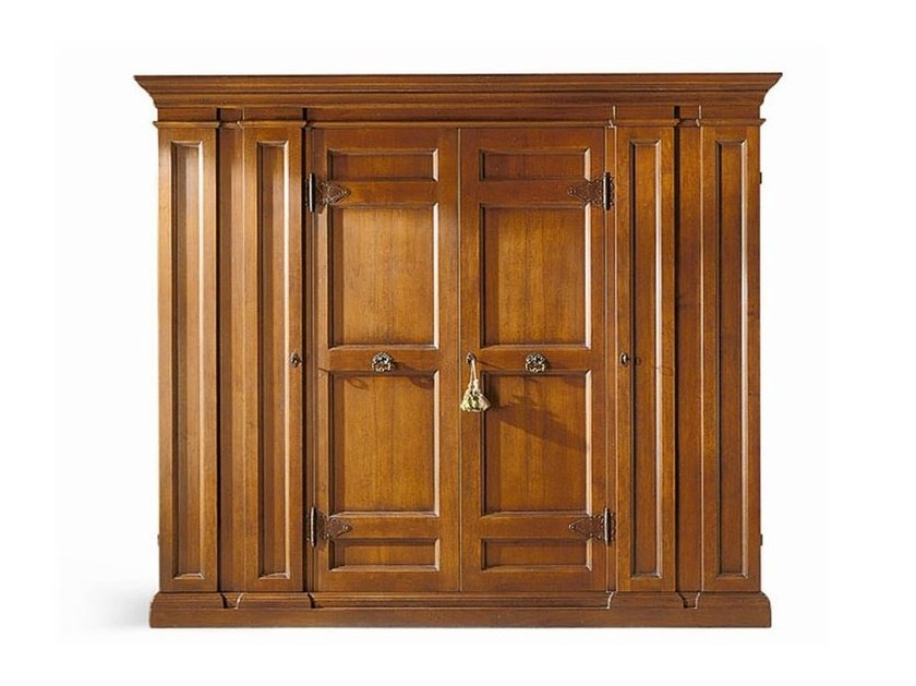 Solid wood wardrobe MICHELANGELO - SELVA