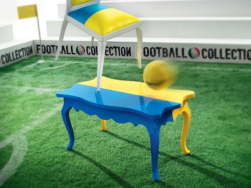 High-quality and personalize table - Football collection - Modenese Gastone