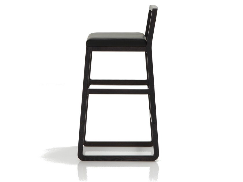 Counter stool with footrest MIDORI | Stool - SANCAL