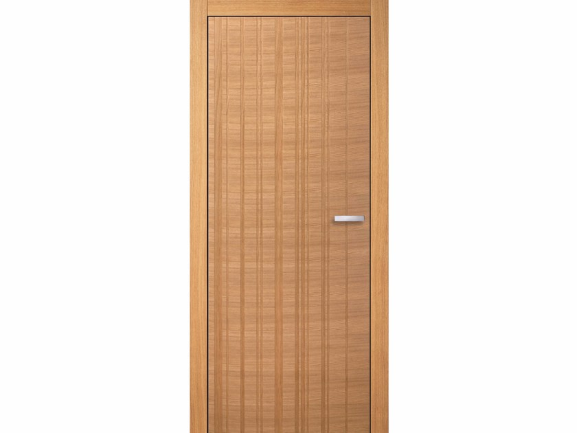 Flush-fitting wooden door MIELE EAN TB - BARAUSSE