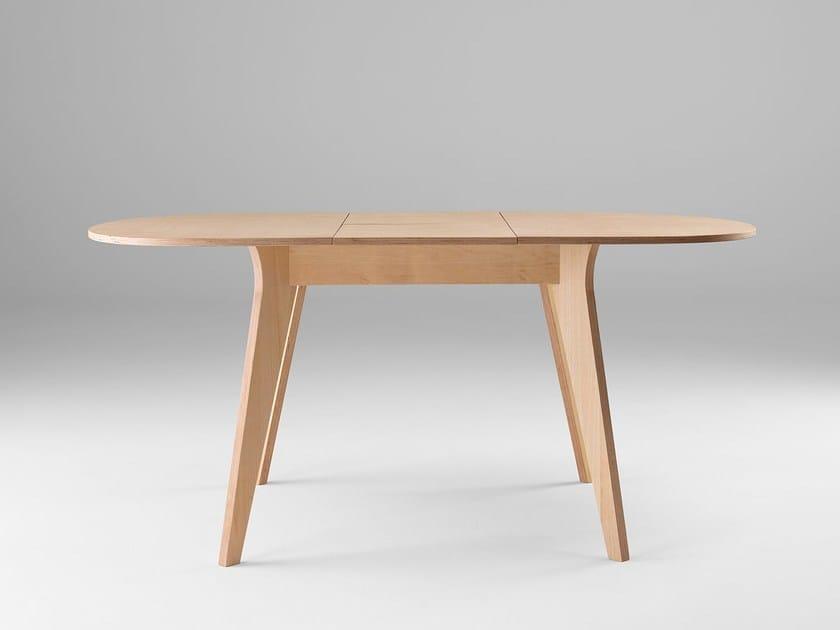 Extending dining table MIKADO H75 by ONDARRETA