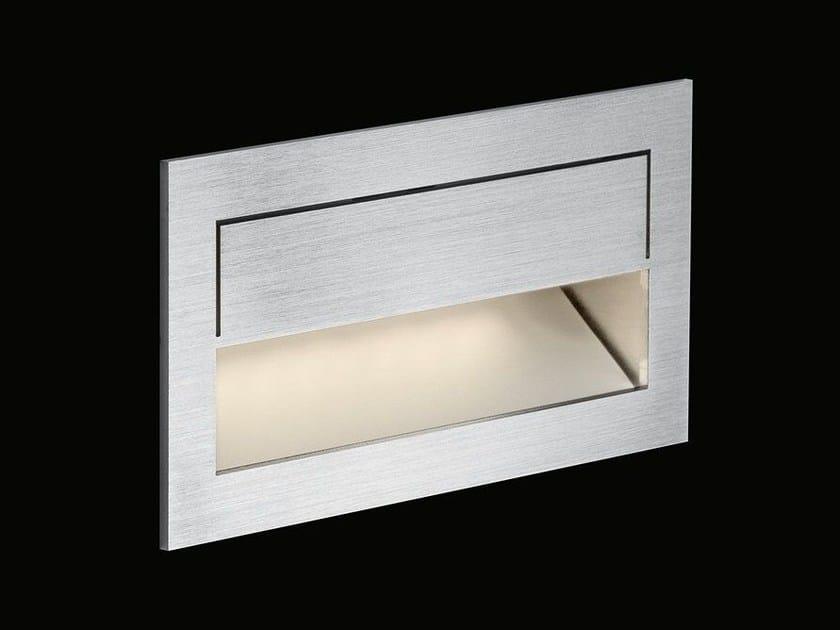 Lampada da incasso a LED a luce indiretta in acciaio inox MIKE INDIA 70 ACCENT LONG - Nimbus Group