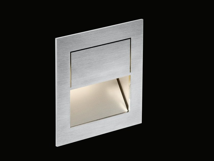 Lampada da incasso a LED a luce diretta in acciaio inox MIKE INDIA 70 ACCENT - Nimbus Group