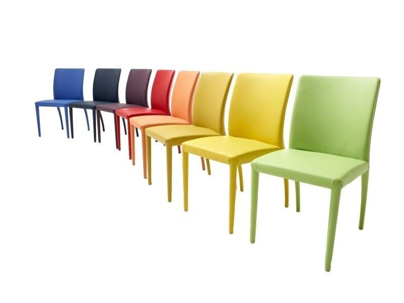 Fabric chair MIKONO - Jori