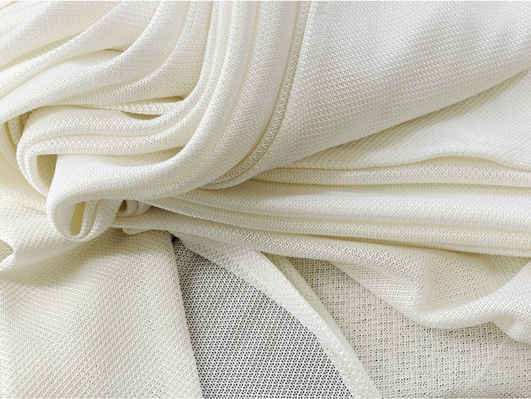 Solid-color fire retardant Trevira® CS fabric for curtains MILADY - Élitis