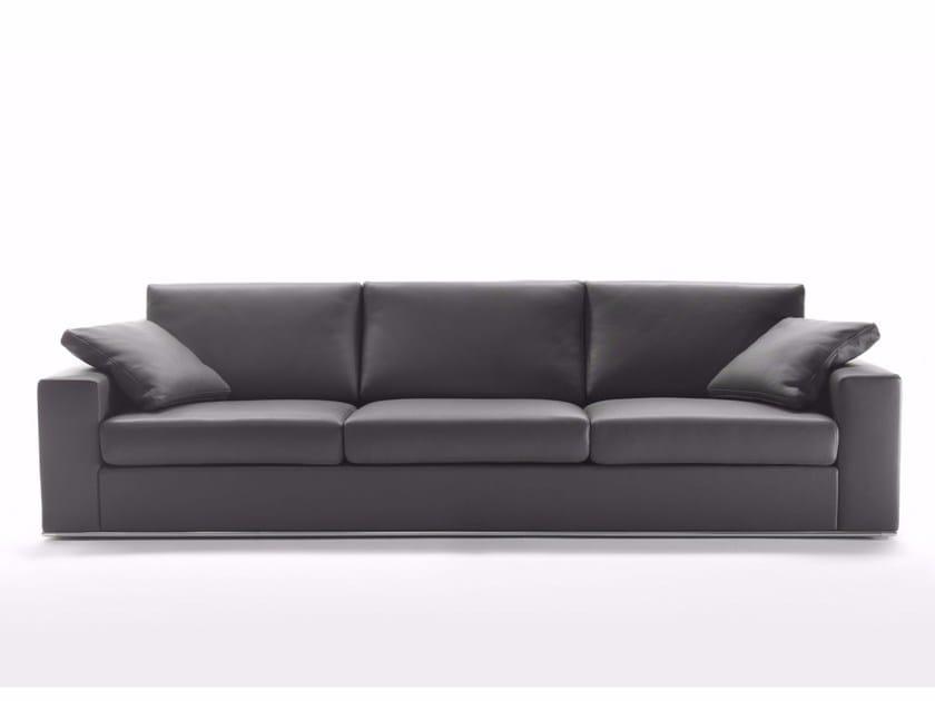 4 seater leather sofa MILANO | 4 seater sofa by Marelli