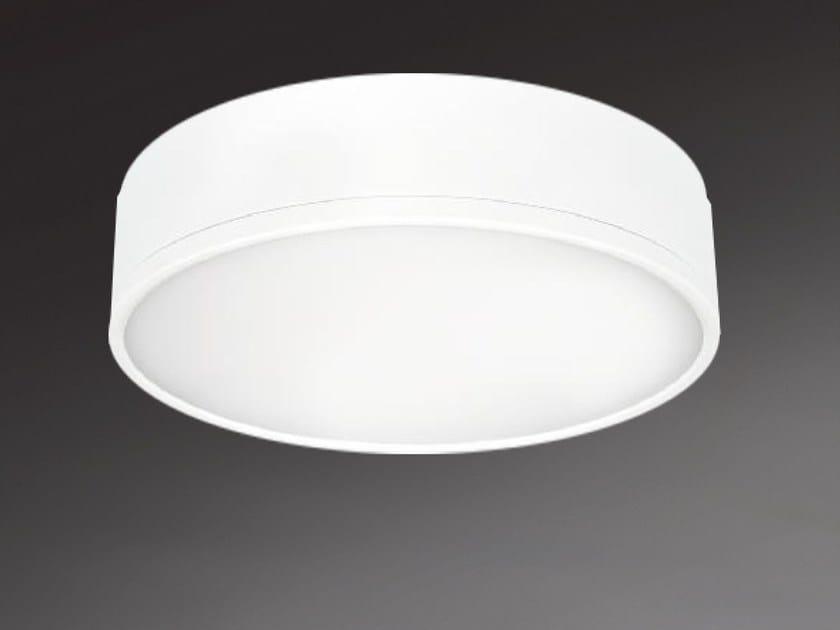 LED direct light ceiling light MILANO ROUND 8872 by Metalmek